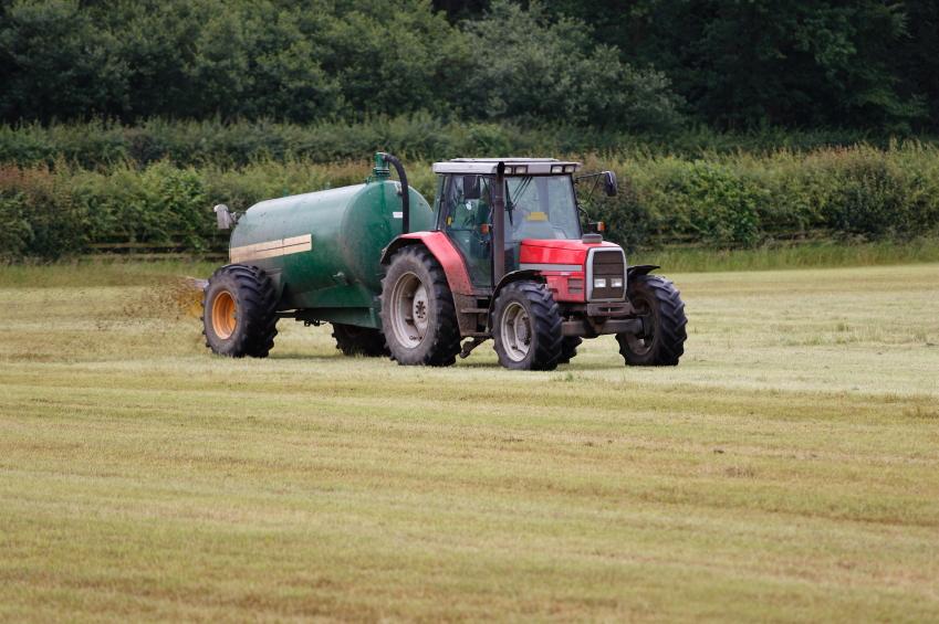 Tractor slurry